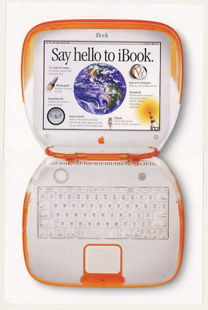 Apple iBook Notebook Computer 4-Page (1999)