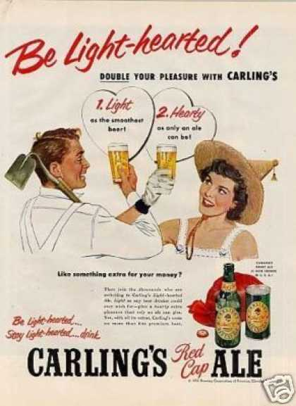 Carling's Red Cap Ale (1952)