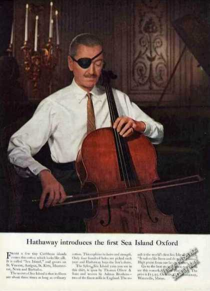 Hathaway Introduces the First Sea Island Oxford (1957)