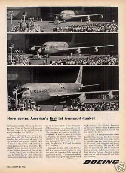 Boeing Ad Kc-135 Jet Transport-tanke (1956)