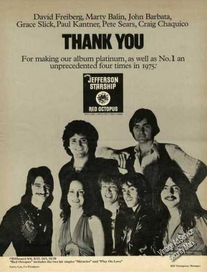 Jefferson Starship Photo Album Promo (1976)