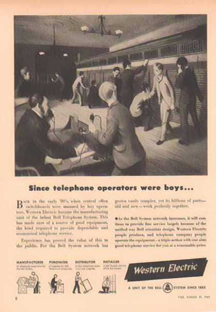 Western Electric Bell System – Sold (1949)