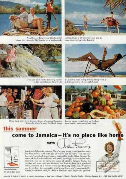 Arlene Francis Come To Jamaica Photos (1959)