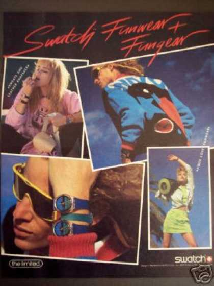 Swatch Watch Funwear Fashion (1986)