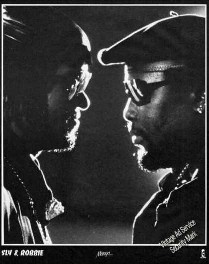 Sly & Robbie Photo Collectible Print Feature (1987)