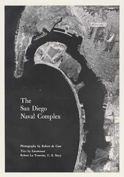 San Diego Naval Complex 14-Page Pictorial Article (1968)