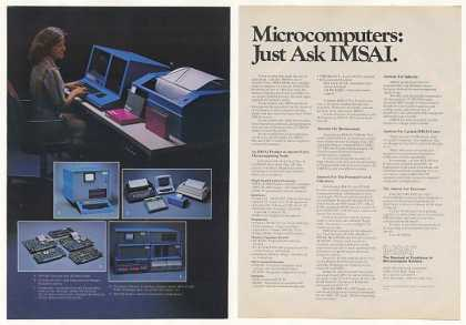 IMSAI VDP-80 PCS-80 Microcomputers (1977)
