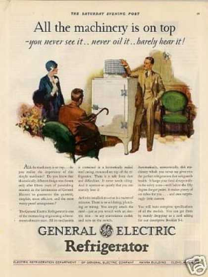 General Electric Refrigerator Color (1929)