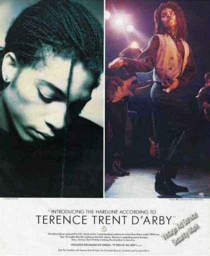 Terence Trent D'arby Photos Music Promo (1987)