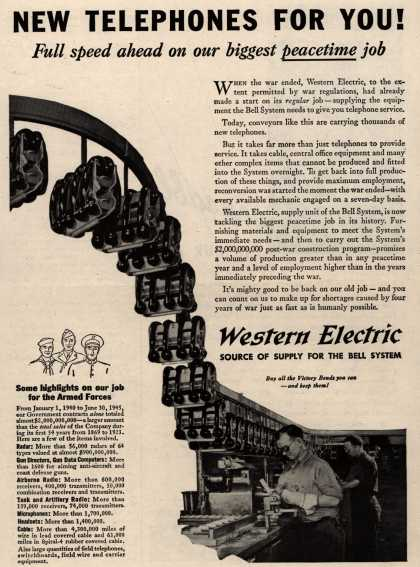 Western Electric's Telephone – New Telephones For You (1945)