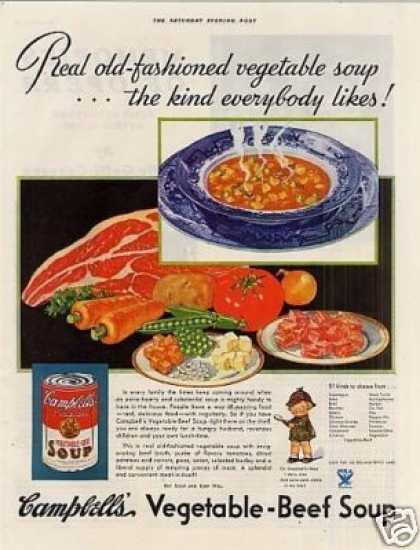 Campbell's Vegetable-beef Soup (1933)