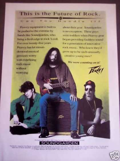 Peavey Guitars Amps Soundgarden Music (1992)