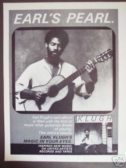 78 Earl Klugh Record Album Magic In Your Eyes Promo