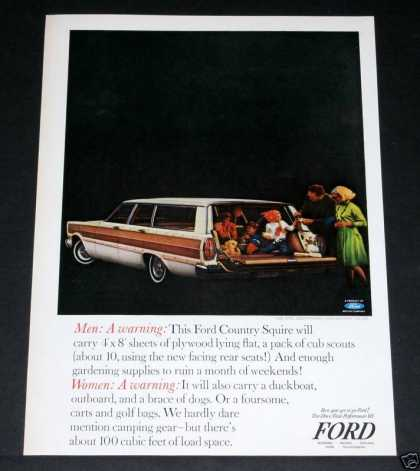 Ford Country Squire Wagon (1964)