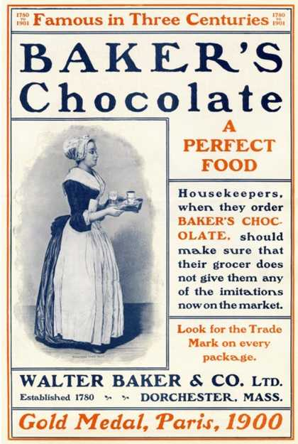 Baker's Chocolate (1900)