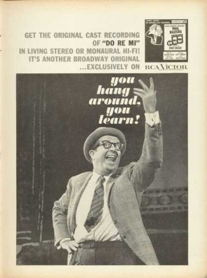 Rca Broadway Record Phil Silvers Do Re Mi (1961)