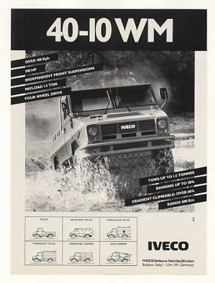 IVECO 40-10 WM Military Truck Photo (1989)
