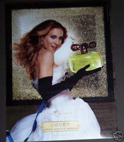 Sarah Jessica Parker Covet Perfume Original Photo