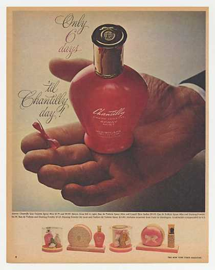 Houbigant Chantilly Perfume Bottle Photo (1965)