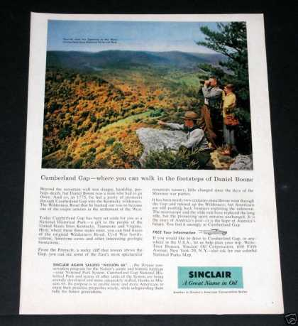 Old , Sinclair Oil, Cumberland Gap (1957)