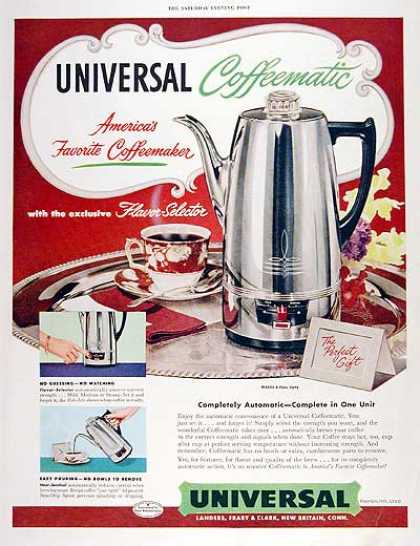 Universal Coffee Maker (1951)