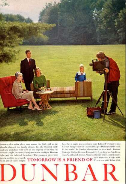 Dunbar Furniture Chair Camera (1965)