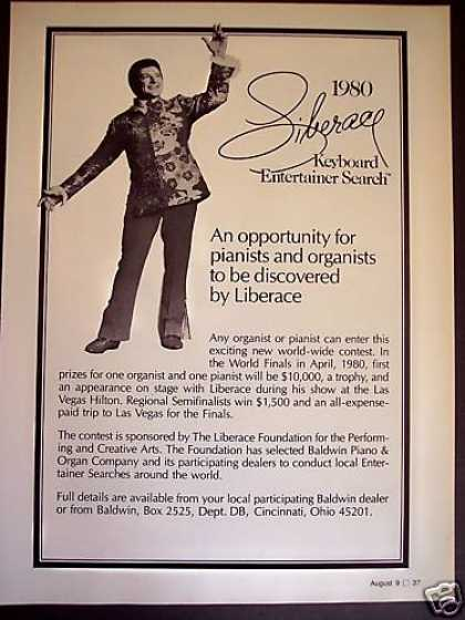 Liberace Entertainer Star Search 1980 Promo (1979)