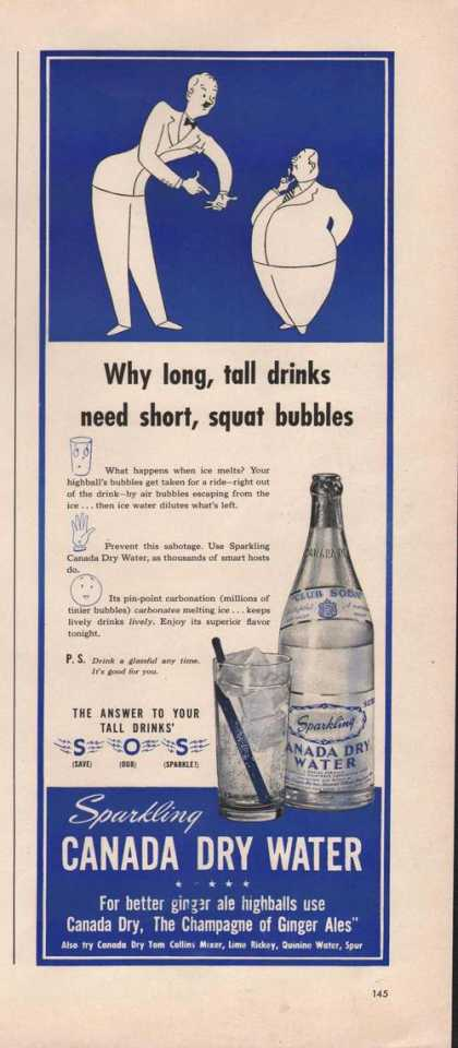 Sparkling Canada Dry Water (1941)