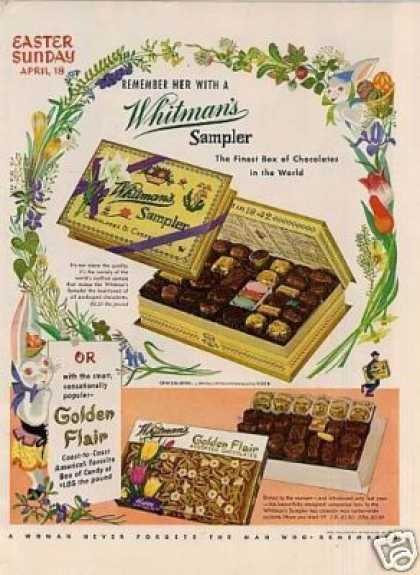 Whitman's Chocolate Candy (1954)