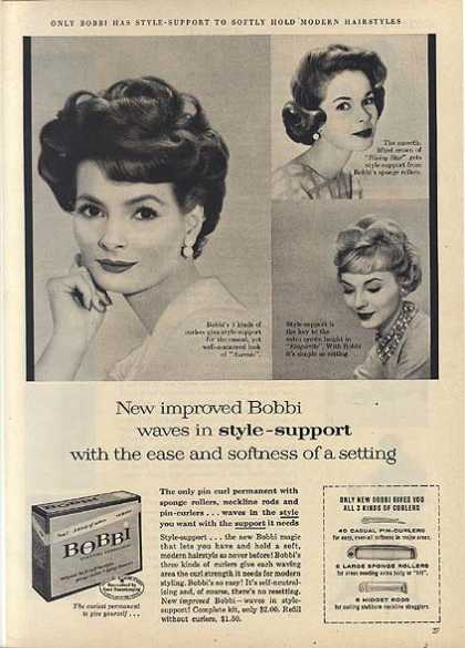 Bobbi's Pin Curl Permanent (1959)