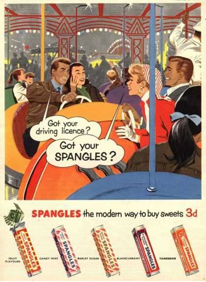 Spangles, Sweets, UK (1950)