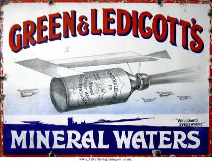Green & Ledicott's Mineral Waters