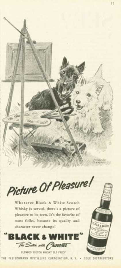 Black & White Scotch Picture of Pleasure (1958)