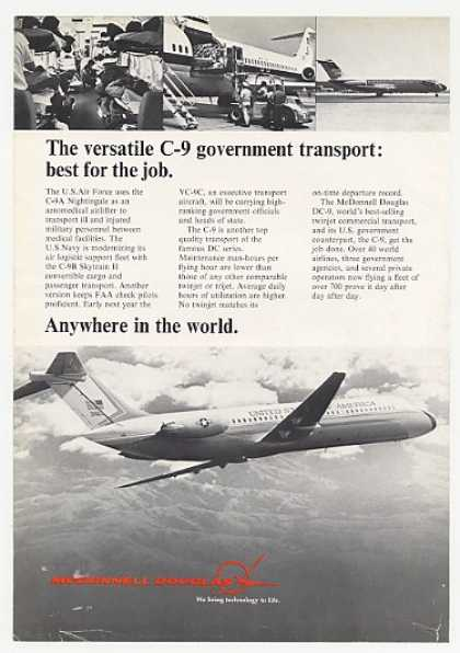 '74 McDonnell Douglas C-9 Government Transport Photo (1974)