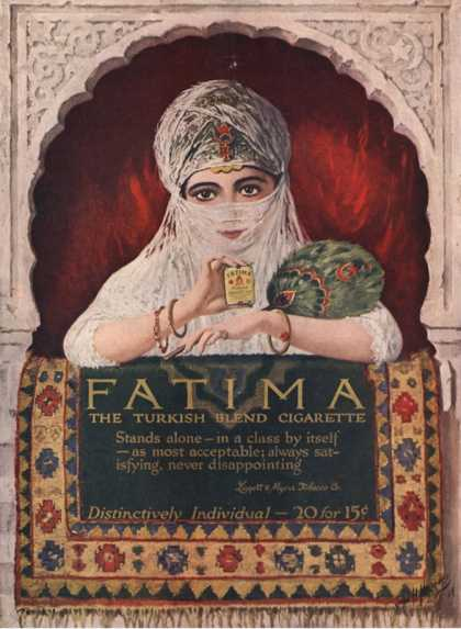 Fatima, Turkish, USA (1914)