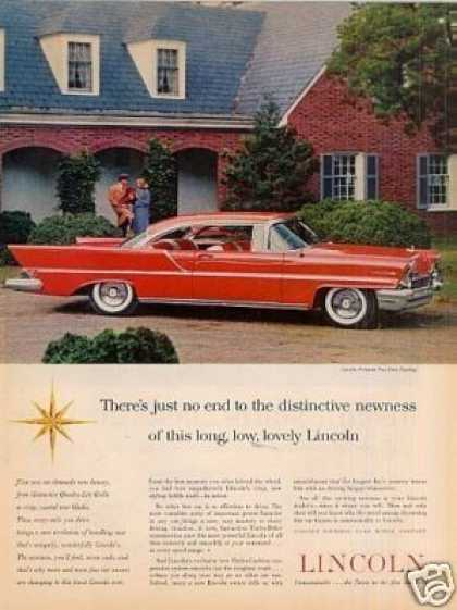 Lincoln Premiere Two-door Car (1957)
