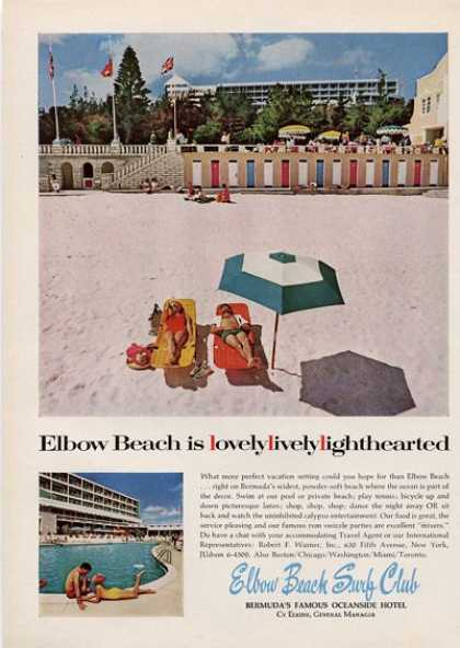 Bermuda Elbow Beach Surf Club (1964)