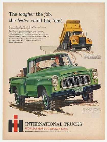 IH International Harvester Pickup Dump Truck (1960)
