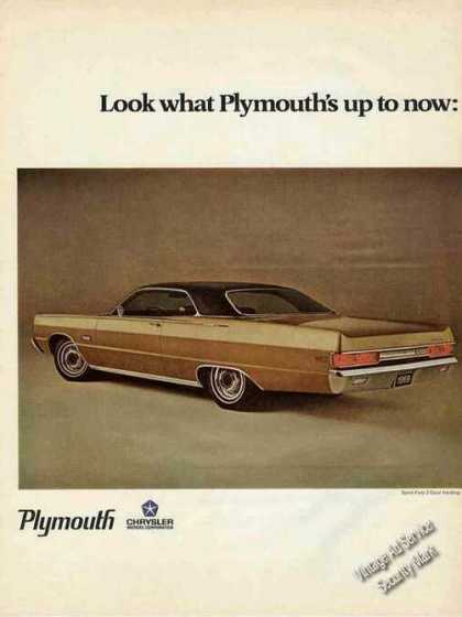 Plymouth Sport Fury Gold 2-door Hardtop (1969)