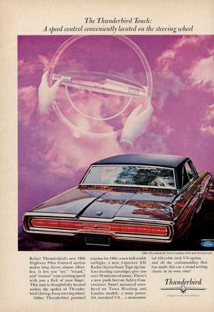 Ford Thunderbird Highway Pilot Control Option (1966)