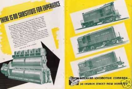 Alco Locomotive Ad New Haven Hh Switchers (1940)