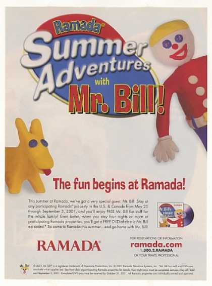 Mr Bill Summer Adventures Ramada Hotel (2001)