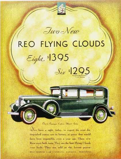 Reo Flying Clouds