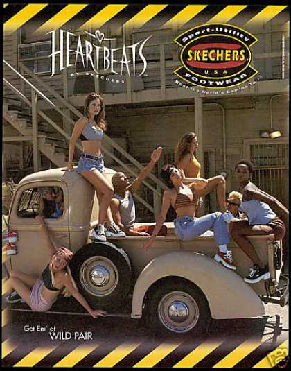 Skechers Shoes Heartbeats Vintage Ford Truck (1996)