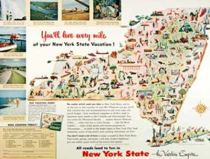 New York State Tourism (1954)