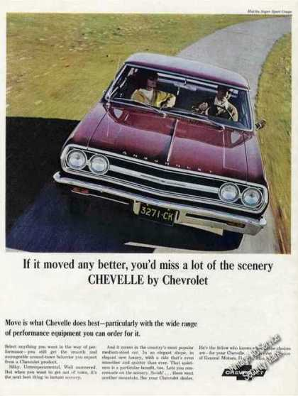"Chevelle By Chevrolet ""If It Moved Any Better"" (1965)"