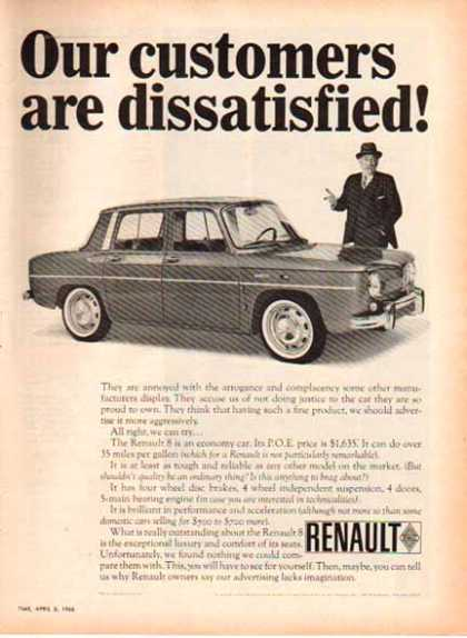 Renault Car – Eight Economy Car (1966)