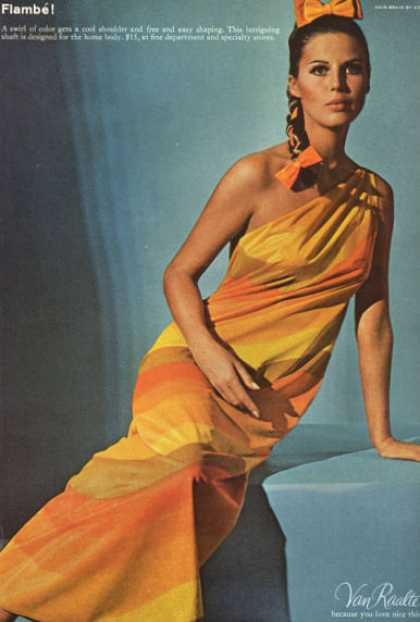 Van Raalte Fashion Dress Shaft Adolfo Hair (1966)