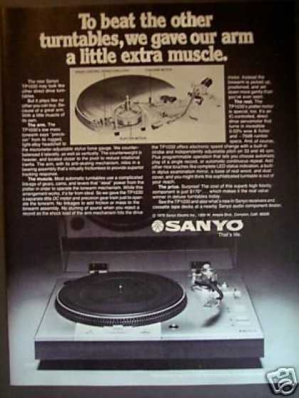 Sanyo Tp1030 Direct Drive Turntable (1978)