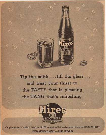 Hire's Root Beer (1944)